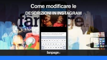 Come modificare le descrizioni in Instagram