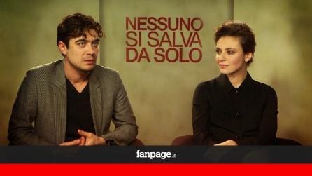 """""""Nessuno si salva da solo"""", Riccardo Scamarcio: """"Io e Jasmine uniti da un amore 'disordinato'"""""""