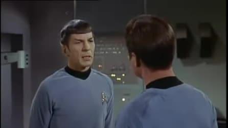 """Spock a McCoy: """"Vi è più facile piangere la morte di una sola persona che quella di un milione"""""""