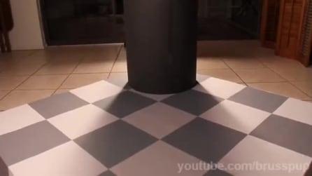 """La scacchiera """"magica"""": l'illusione ottica vi stupirà"""