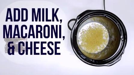 Latte, formaggio e pasta: la gustosa ricetta con la pentola elettrica