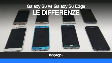 Samsung Galaxy S6 e Galaxy S6 Edge: le differenze