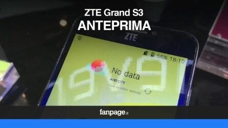 ZTE Grand S III, il primo smartphone che riconosce l'iride