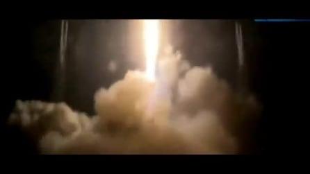 Il lancio del razzo Falcon, due innovativi satelli per le telecomunicazioni