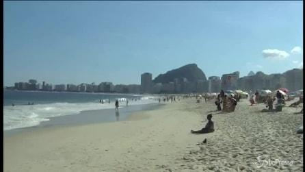 Spiagge di Rio de Janeiro troppo inquinate: allarme infezioni