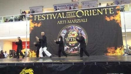 TAIJI QUAN A ROMA: ESIBIZIONE DEL M° FLAVIO DANIELE AL FESTIVAL DELL'ORIENTE 2014