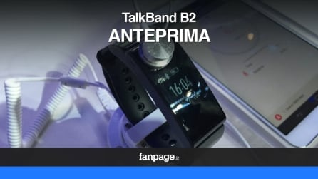 Huawei TalkBand B2, la fitband con auricolare bluetooth