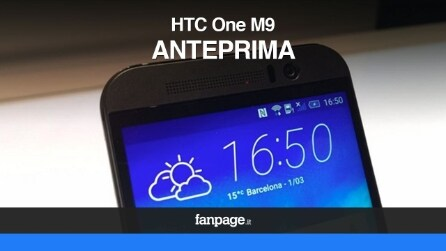 HTC One M9 - Anteprima video