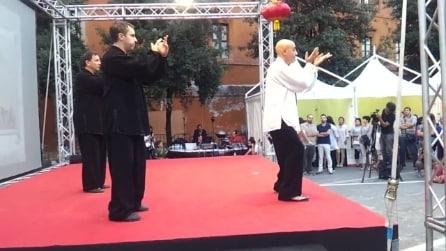 Chen Style Taiji Quan a Roma: Esibizione del M° Flavio Daniele e degli istruttori della Scuola Nei Dan