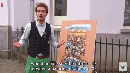 Espongono un quadro dell'IKEA in un museo: sentite l'opinione degli esperti