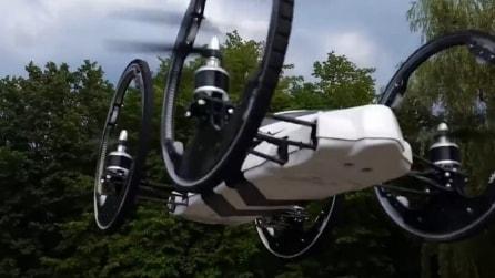 Ecco B Flying Car, il drone in grado di raggiungere grandi velocità