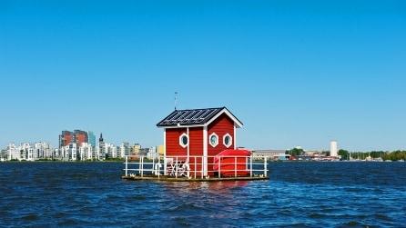 L'albergo con le stanze galleggianti esiste davvero e si trova in Svezia