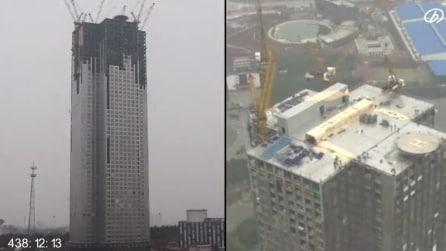 Un palazzo di 30 piani costruito in 15 giorni: il record di un'impresa edile cinese