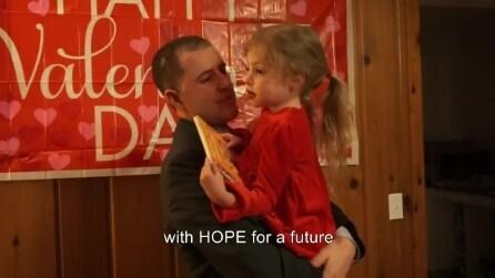 Un ballo per salvarle la vita, il commovente gesto di un papà per la figlia malata