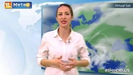 Previsioni meteo per sabato 14 marzo