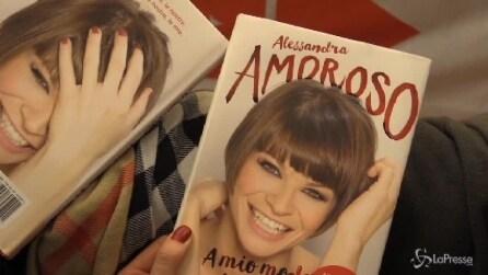 Roma, Alessandra Amoroso presenta il suo libro 'A modo mio vi amo'