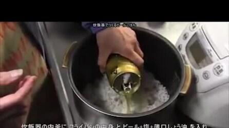 Riso alla birra, ecco come lo preparano in Giappone