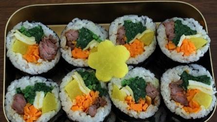 Come fare il gimbap: il sushi coreano