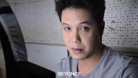 """Si trucca e si """"trasforma"""" in Beyoncé: non ci credete? Guardate"""