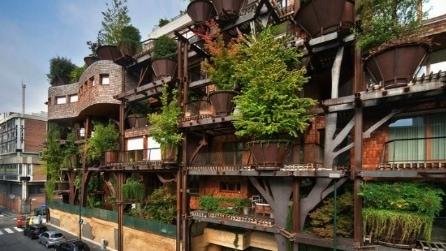 La casa foresta nel centro di Torino, l'innovativa sfida dell'architetto Luciano Pia