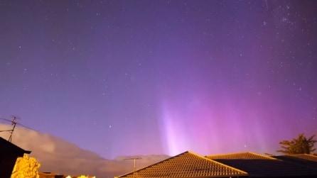 Lo spettacolo dell'aurora australe in timelapse