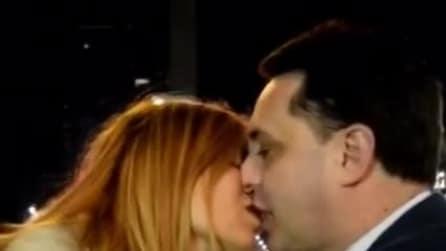 Andrea DiPrè e il bacio hot con Sara Tommasi
