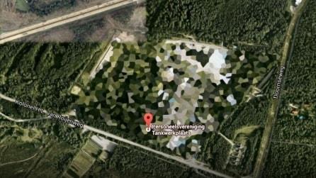 I 10 luoghi nel mondo oscurati da Google Earth