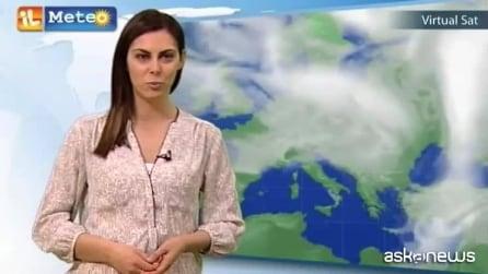 Le previsioni meteo per sabato 4 aprile