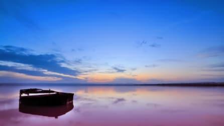 L'incredibile spettacolo del Lago Retba