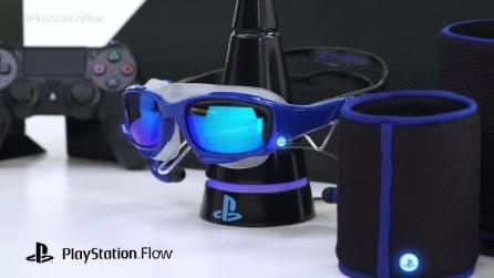 PlayStation Flow, il dispositivo indossabile per videogiocare nuotando
