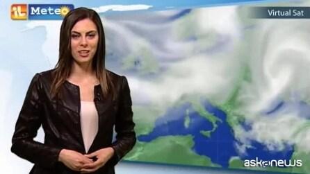 Previsioni meteo per giovedì 2 aprile