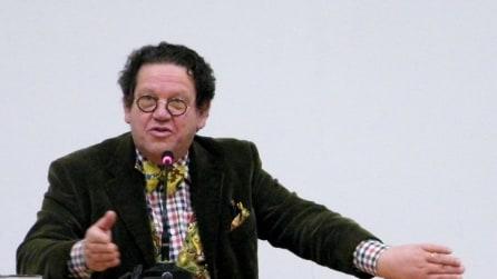 """Philippe Daverio alle telecamere di Fanpage: """"Milano può esser fiera di sé stessa"""""""
