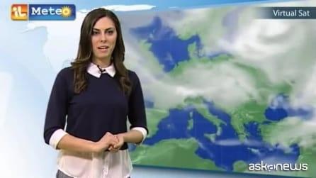 Previsioni meteo per mercoledì 8 aprile
