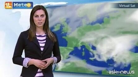 Previsioni meteo per giovedì 9 aprile