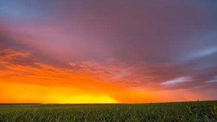 """Giochi di luci e colori nel cielo: lo spettacolo del """"west"""" americano"""
