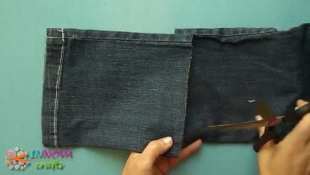 Quello che riesce a fare con questi vecchi jeans vi sorprenderà