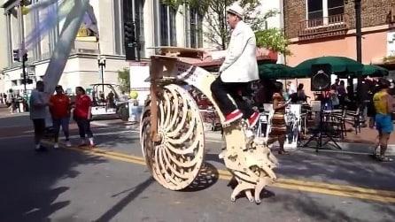 La bici più incredibile che abbiate mai visto