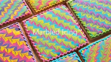Sembra un dipinto, incredibili decorazioni: come fare biscotti colorati
