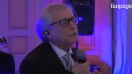 Nino D'Angelo canta al matrimonio di suo figlio