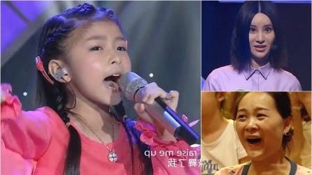 Ha 5 anni ma la sua voce è potentissima. L'esibizione lascia il pubblico sbigottito