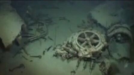 Lo ritrovano in fondo all'oceano dopo più di 70 anni. Le incredibili immagini