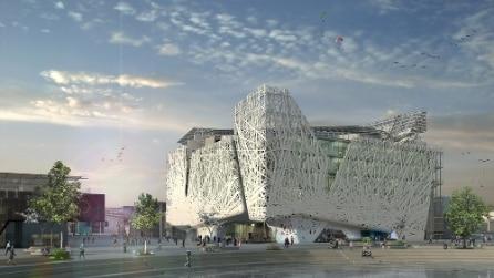 Expo, ecco l'affascinante architettura del Padiglione Italia