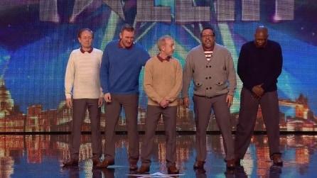 Il quintetto sale sul palco e nessuno avrebbe mai pensato a una performance del genere