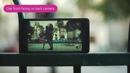 Snapi, l'applicazione per scattare selfie senza premere alcun tasto sullo smartphone