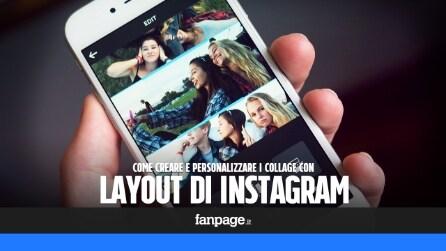 Come creare foto collage gratis con Layout di Instagram