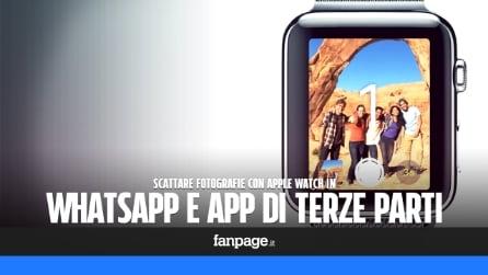 Come scattare foto con Apple Watch in WhatsApp, Facebook e app di terze parti
