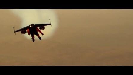 Sfrecciano a 200 km/h nei cieli di Dubai: ecco gli uomini volanti