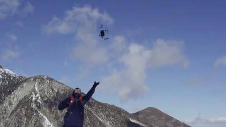 Più che un drone, un amico: lancialo in aria e ti seguirà ovunque tu vada