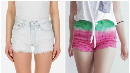 Da uno shorts bianco a uno anguria: ecco come crearlo