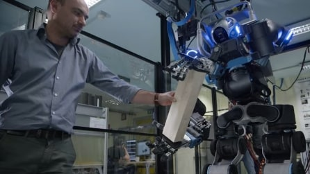 Walkman il robot umanoide Made in Italy